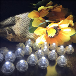 rose bullet wholesale NZ - Led Light Bullet Switch Light Mini Light Bulbs Glowing Balloon Bar Party Wedding Holiday Garden Decoration
