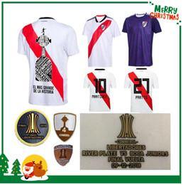 Discount river plate jerseys - 2019 River Plate Home White Soccer Jersey 18 19 riverbed River Plate Home Soccer Shirt 2018 Customized Football Uniform