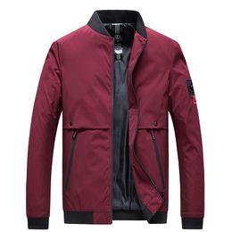$enCountryForm.capitalKeyWord UK - 2019 New Men's Jackets And Casual Coats Fashion Men's Collar Slim Fit Spring Baseball Jacket Men Street Clothes Plus Size M-4xl