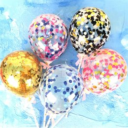 Bling Party Decorations Australia - Valentine's day love heart Balloon Sequins bling cake balloons Festival Birthday Party Supplies decoration Wedding paillette Airballoon