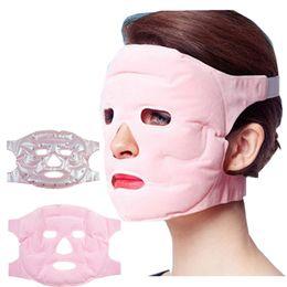 Venta al por mayor de Máscara Facial Cuidado Facial de la Piel Máscaras de Maquillaje Gel Imán Fino Cara Salud Máscaras Magnéticas Mascarillas Adelgazantes Faciales RRA939