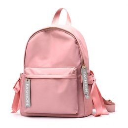 cf36f0760d48 good quality Korean Style Spring Fashion Backpacks Women Teenage Ribbons School  Bags Female Casual Travel Bags Girls Backpack Mochilas