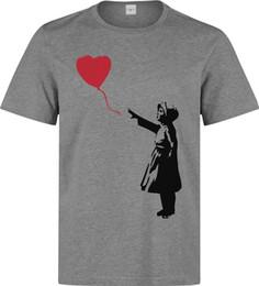 $enCountryForm.capitalKeyWord Canada - Banksy street art girl and a red heart balloon men's clothing top grey t shirt jacket croatia leather tshirt