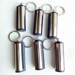 e6919fcdc4 ... di metallo permanente accendino catena chiave accendisigari  accendisigari antipasto di fuoco senza olio per fumatori accessori attrezzo della  cucina