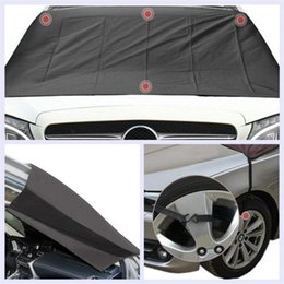 sunshade covers Canada - Car Windshield Snow Cover Sun Screens Auto Windshield Snow Cover Magnetic Waterproof Car Ice Frost Sunshade Protector