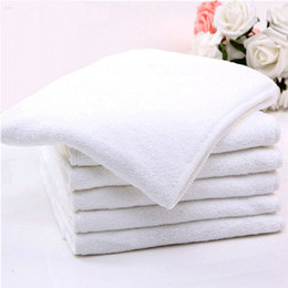 Cloth Inserts Layer Wholesale Australia - Ohbabyka Reusable Adult Diaper Microfiber Inserts 4 Layer Diaper Nappies Liner Absorbent Adult Cloth Nappy Inserts 5pcs lot