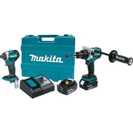 Makita XT268T 18V LXT de lítio sem escova sem fio 2-Pc. Kit Combo (5.0Ah) venda por atacado