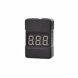 wholesale BX100 1-8S Lipo Battery Voltage Tester Low Voltage Buzzer Alarm Checker with Dual Speakers top quality on Sale