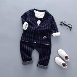 $enCountryForm.capitalKeyWord NZ - good quality spring autumn baby boys clothing sets 3pcs cotton long sleeve+suit+ pants clothes formal clothes party clothing sets