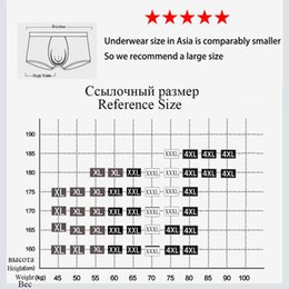 Wholesale male boxer pouch resale online - WTEMPO Brand Trunk Boxers Fashion Sexy Men Underwear Mens Underpants Male Panties Shorts U Convex Pouch for Gay Y200415