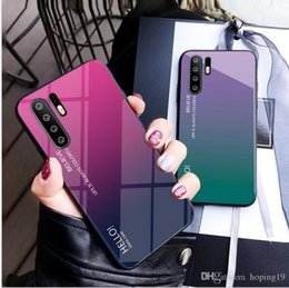 $enCountryForm.capitalKeyWord NZ - High quality High quality Europe simple design Case For Iphone XR XS MAX 8PLUS X Glass case hard shell back cover for Huawei Nova3i Mate9pro