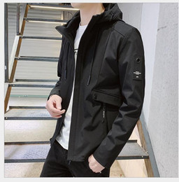 korean jackets sale UK - Factory direct sales 2020 spring and autumn new jacket men's Korean trend fashion slim men's jackets Outerwear coats