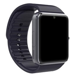 Smart Watch Iphone Android Australia - Bluetooth Smart Watch Men GT08 With Touch Screen Big Battery Sim Card Camera iPhone Android Phone
