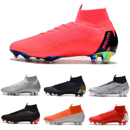 $enCountryForm.capitalKeyWord NZ - Outdoor shoes Mercurial Superfly VI 360 Elite CR7 Neymar FG soccer cleats Crampons de football SuperflyX Ronaldo orange C021