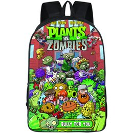 Plant Vs Zombies Game Australia - Bully backpack Plants vs Zombies daypack Game for you schoolbag Cool print rucksack Sport school bag Outdoor day pack