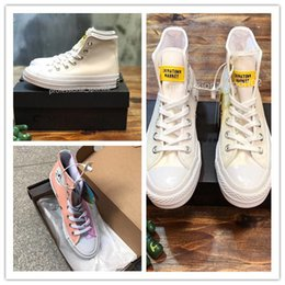 HigH top sneakers brands online shopping - Drop Shipping Brand New Colors All High Top sports stars Low Top Classic Canvas Shoe Sneakers Men s Women s Discoloration shoes