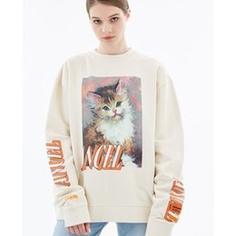 $enCountryForm.capitalKeyWord Australia - 2019 new Heron Preston cat print sweater men and women loose long sleeve bottoming shirt thickening plus velvet s-xl