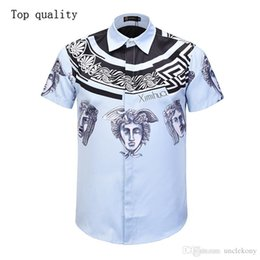 $enCountryForm.capitalKeyWord Australia - high quality new design 3d printed fashion men meduasa Hawaii Harajuku style men tops casual business fashion men's short sleeve shirts