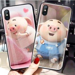 Ingrosso 2019 nuova cassa del telefono mobile per Huawei p20 cassa del telefono mobile iphonex / 7 p / 8 p suina conchiglia di vetro x27 / r17 / r15 coperchio di protezione