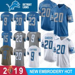 Color best online shopping - 20 Barry Sanders Detroit Lion Jersey Matthew Stafford Darius Slay JR Golden Tate III Jerseys Color Rush Best Sale NEW
