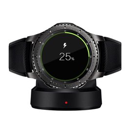 $enCountryForm.capitalKeyWord Australia - Wireless Charger Dock Cradle For Samsung Gear S3 Charging Dock Station Holder For Samsung Gear S3 Classic Frontier Watch Charger