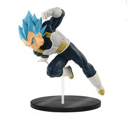 Wholesale Dragon Ball Z Super Vegeta Ultimate Soldiers Movie Figurine Toy Statue Collection DBZ Model Gift NB