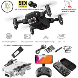 1pcs Dual Camera Drone 4K 1080P Mini Folding Fixed Height Aircraft Gesture Photo Four Axis Aerial Remote Control Helicopter drones Toy E66 on Sale