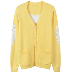 d46b9e8649d 32 2019 Spring luxury sweater designer sweater Brand Same Style Cardigan  Button Long Sleeve V Neck Cardigan Beads Women Clothes YL