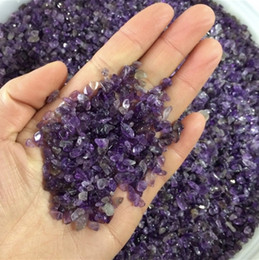 Crystal Chips NZ - Natural Mini Amethyst Point Quartz Crystal Stone Rock Chips Lucky Healing