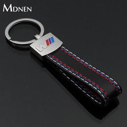 faab82dc87 MDNEN Sports Car Logo Portachiavi in metallo M Potenza AMG R RS Vita auto  Catena chiave Portachiavi Anelli Portachiavi Regalo dell'uomo