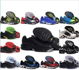 Wholesale TN PLUS Mens Original Fashion Sneakers TN AIR ShOes Sales TOP Quality Cheap France BASKET TN ReQUIN ChauSSures Size