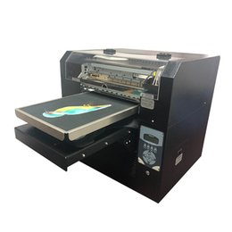 $enCountryForm.capitalKeyWord Australia - 2019 Newest 8 Colors DTG T shirt Garment Cloth Printer Machine A3 Size CMYK+WWWW T shirt Printing Machine DX5 Head