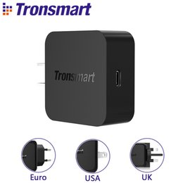 $enCountryForm.capitalKeyWord Australia - Tronsmart Wcp01 Charger Quick Charge 3.0 18w Power Delivery 3.0 Usb Type-c Phone Charger For Iphone X,iphone 8 Plus,samsung S8 J190427