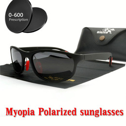 4e58c9d0d97 Finished Polarized Myopia Sunglasses Men Women custom Short sighted Optics Driving  goggles women fashion Square sunglasses NX
