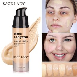 45ef51fbb Sace Lady 30ml Base de Maquillaje Base Profesional de Maquillaje Maquillaje  Para Piel Oscura Mate Crema Control de Aceite Líquido Natural Cosmético