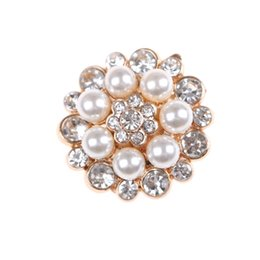 white pearl mesh Canada - 7Styles Crystal Shoe Clip Decoration Faux Pearl Shoe Clips Decorative Accessories Bridal Shoes Rhinestone Clip Buckle