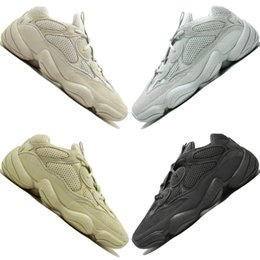 Wholesale 2019 Kanye West Desert Rat Blush s Salt Super Moon Yellow M Utility Black mens running shoes for men women sports sneakers trainers