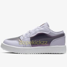 $enCountryForm.capitalKeyWord Australia - Kids 1 Low Alt PS Basketball Shoes High Quality Designer Child Baby Duck Trainer Boys Girls 1s OG Fearless Sneakers Obsidian Athletic Shoes
