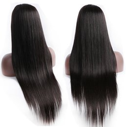 $enCountryForm.capitalKeyWord Australia - Full Lace Front Wig Peruvian Virgin Human Hair Wigs Pre Plucked With Baby Hair 150% Remy Peruvian Full Lace Wigs For Black Woman Can be Dyed