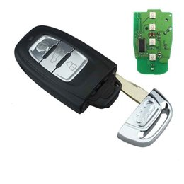 315mhz 433mhz online shopping - Smart Remote Key Keyless Entry Button MHz MHz MHz for Audi A4L Q5 QS T0 C