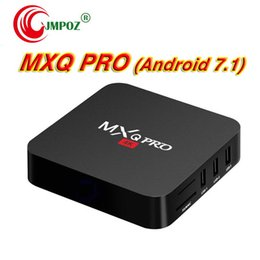 $enCountryForm.capitalKeyWord Australia - Hot MXQ Pro Android 7.1 TV Box Amlogic S905W RK3229 Quad Core 1GB 8GB wifi Google Streaming Media Player Cheap OTT IPTV Boxes