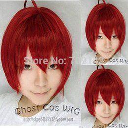 $enCountryForm.capitalKeyWord Australia - Women Men Synthetic Wig Short Curly Layered Haircut Br Color Wavy Curly Color Hair Red Body Swiss Synthetic Wig For Women no Lace Front Wigs