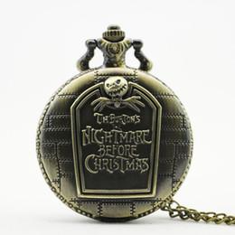 $enCountryForm.capitalKeyWord Australia - Christmas Quartz Pocket Watch Vintage Roman Numeral Display Pendant Clock Birthday Gifts for Boys Dropshipping TD2051