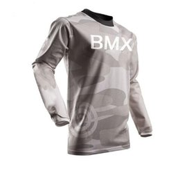 cycling jersey sky red Australia - 2019 New Downhill Jersey Gray Red Black Moto GP Mountain Bike Motocross Jersey BMX DH Cycling T-Shirt Clothes bike Jersey