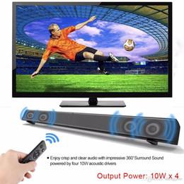 Optical Audio Australia - Bluetooth Soundbar Bluetooth Speakers Home Theater 40W Column TV Computer with Subwoofer Optical Coaxial USB AUX Audio Input