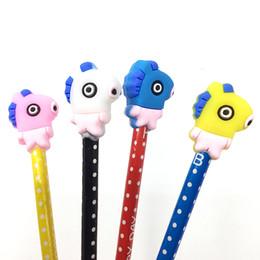 $enCountryForm.capitalKeyWord NZ - Cute House Pen Cap Funny Cartoon TPR Pen Decoration Desktop Car Props toys Small Grift For Children Kids
