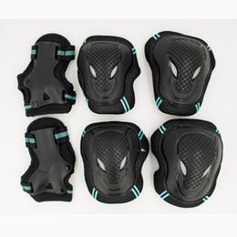$enCountryForm.capitalKeyWord Australia - HOT 6pcs set Skating Protective Gear Set Elbow pads Bicycle Skateboard Ice Skate Roller Knee Protector For Adult Kids Gift