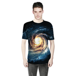$enCountryForm.capitalKeyWord NZ - 2018 Summer Fashion Men Wear Whirlpool Star 3D Digital Print T-shirt Short Sleeved Men Sports Bottoming Shirts A0304