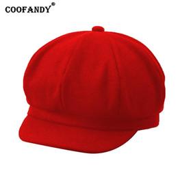a3058e1557fa2 Beret Hat Children Australia - Unisex Solid Soft Stretch Wool Cap Spring