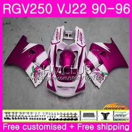 $enCountryForm.capitalKeyWord Australia - Bodys For SUZUKI SAPC RGV-250 VJ22 RGV 250 88 89 90 94 95 96 18HM.144 VJ21 RVG250 RGV250 1988 1989 1990 1994 1995 1996 Fairing Top Rose Pink